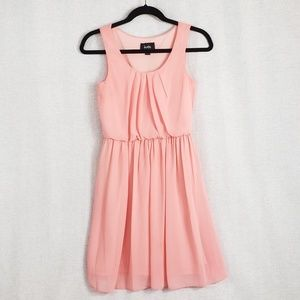 Darling Pink By & By gathered dress XS